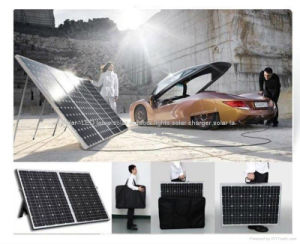 12V 120W Portable Folding Solar Panel for Camping with Caravan pictures & photos