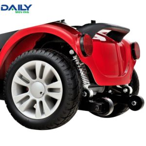 Mini 4 Wheels Electric Mobility Scooter with 250W Motor and 9 Inch Solid Tire pictures & photos