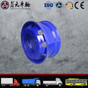8.25*22.5 Tubeless Rim TBR Truck Steel Wheel with ISO pictures & photos