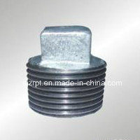 Galvanized Plug Malleable Iron Pipe Fittings pictures & photos