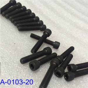 Spare Parts Water Jet; Screw Shcs Stl Blk Oxd pictures & photos