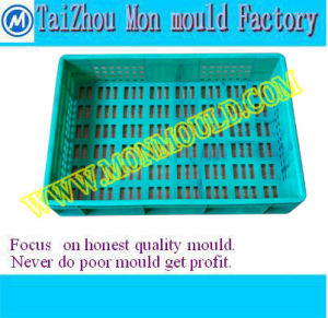 Injection Mould for Peach/Orange/Bread/Fruit Circulation Box pictures & photos