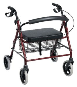 Extra Wide Aluminum Rollator (SK-RT410) pictures & photos