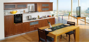 PVC MDF Kitchen Cabinet for Kitchen Remodeling (zc-025) pictures & photos