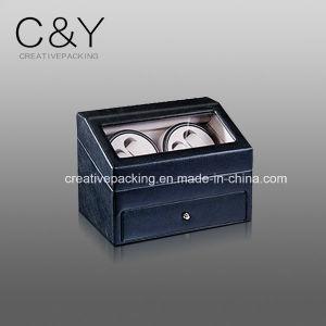 Wholesale Black Leather Watch Storage Case Watch Winder pictures & photos