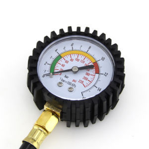 Car Tyre Air Pressure Gauge with Pointer Gauge pictures & photos