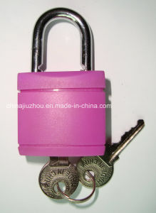 32mm ABS Color Plastic Shell Iron Padlock (XK363-S) pictures & photos