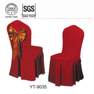 Red Hotel Wedding Banquet Chair Cover pictures & photos