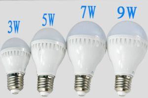 Pin Socket 3-9W Plastic LED Bulb pictures & photos