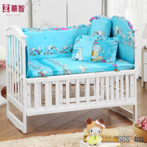 Blue Printing Baby Bedding Sets with Snoopy pictures & photos