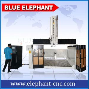 3050 Big Size 4 Axis Router CNC 3D Molding Machine, CNC Machine for Mold Making pictures & photos