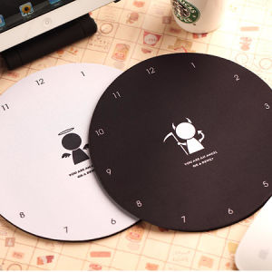 Round Shape Custom Design Promotional Mouse Pad pictures & photos