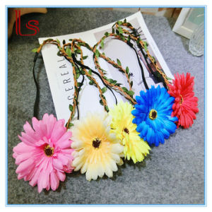 Bohemia Flower Garlands Seaside Vacation Women Headbands pictures & photos