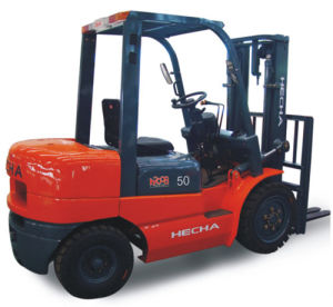 Diesel 5 Ton Forklift Truck pictures & photos