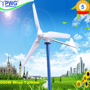 High Effecient 500W Wind Generator Wind Turbine System pictures & photos