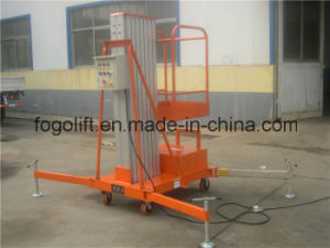 China Supplier Hydraulic Mobile Used Boom Lifts Sale pictures & photos