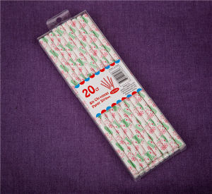 Eco Friendly Special Drinking Party Paper Straws for Drinking pictures & photos