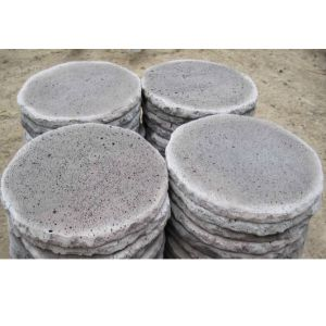 Natural Round Lava Stone for Flooring pictures & photos