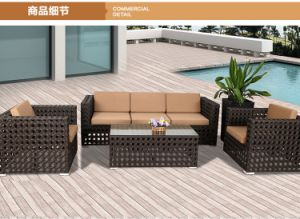 Rattan & Aluminum Furniture, Outdoor Rattan Sofa pictures & photos