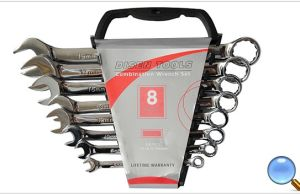 8PCS SGS Approved Mirror Finish Combination Spanner Set pictures & photos