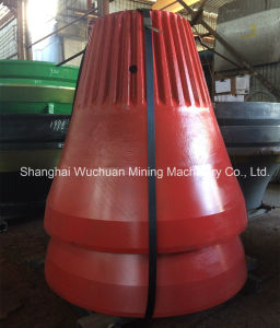 Crusher Parts Cone Liners for Sandvik H4800 S4800 pictures & photos