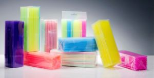 PVC Box Packaging Flexible Plastic Drinking Straw pictures & photos