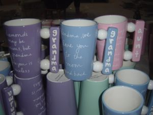 Ceramic Coffee Cup with Special Handle pictures & photos