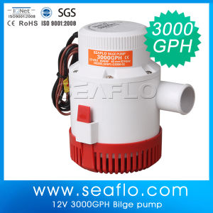 Seaflo 24V 3000gpm High Flow Submersible Bilge Pump pictures & photos