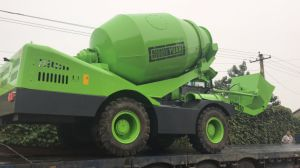 China Factory Price Mobile Concrete Mixer Self Loading 3.5cbm pictures & photos