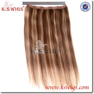 100% Indian Human Clip on Hair Extensions pictures & photos