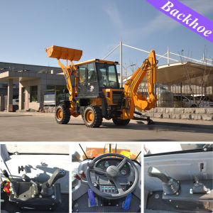 Compact Pay Backhoe with Good Price pictures & photos