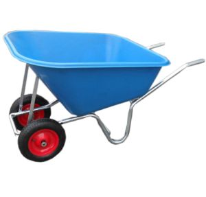 (WB9800T) Plastic Tray Wheel Barrow with Large Capacity