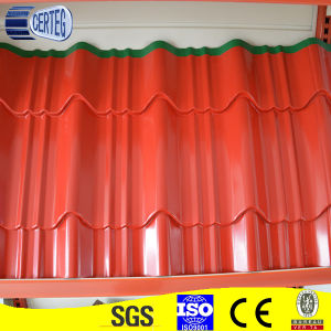 Prepainted galvanized corrugated metal roof covering pictures & photos