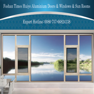 High Quality Aluminum/Aluminium Windows with Fly Screen pictures & photos