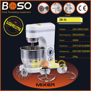 Boso Brand 5L Pizza Bread Spiral Dough Mixer (ZB-5L)