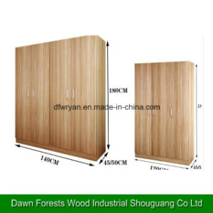 Melamine Laminated Particle Board Kitchen Cabinet pictures & photos