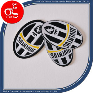 2015 Wholesale New Design Embroidery Patch with Iron on Backing pictures & photos