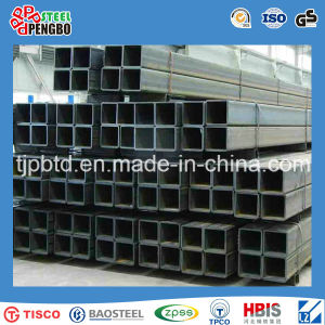 Carbon Steel Welded Black & Hot Galvanized Square Pipe & Rectangular Pipe pictures & photos