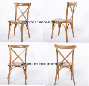 Welhome High Quality X Back Chair/Cross Back Chair F1011 pictures & photos