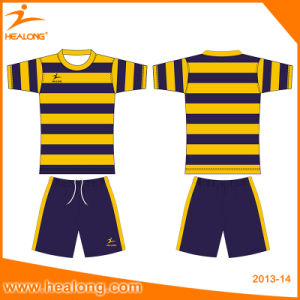 Popular Sportswear Sublimation Team Match Football Jersey pictures & photos