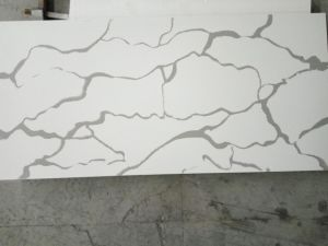 Carrara White Quartz Stone for European American Countries pictures & photos