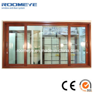 Alu-Wood Sliding Window with Factory Price pictures & photos
