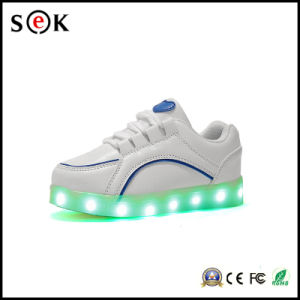 Light Weight Safety LED Adult Light up Shoes for Men pictures & photos