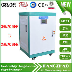 60Hz to 50Hz Frequency Inverter with Low Frequency Isolation Transformer pictures & photos
