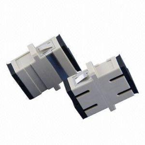Sc Duplex Fiber Optic Adapter (ST-AD-SC02-G) pictures & photos