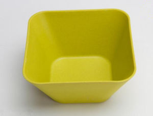 Square Shape Bamboo Fiber Salad Bowl Bamboo Bowl pictures & photos
