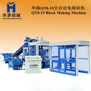 Construction Equipment Full Automatic Concrete Block Making Machine Qt8-15