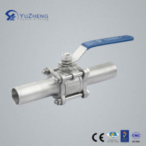 3PC Long Welding Ball Valve pictures & photos