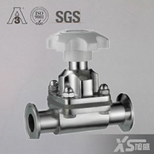 Stainless Steel Sanitary Straight Diaphragm Valves with Silicone Membrane pictures & photos