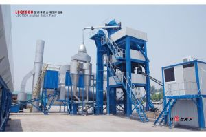 Roady Professional Manufacturer Lb1000 Asphalt Mixing Plant